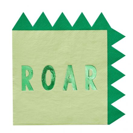 Dinosaur ROAR Party Napkins